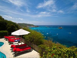 Private family villa high in Colombier with superb views of Gustavia Harbor WV DAN - Saint Barthelemy vacation rentals