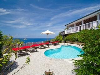 Private family villa high in Colombier with superb views of Gustavia Harbor WV DAN - Colombier vacation rentals