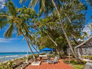 Tropical West We Go on sublime white sand beach with alfresco showers & staff - Sandy Lane vacation rentals