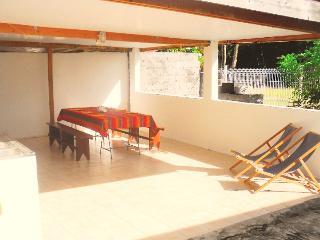 Malilia proche plage vous êtes les Pieds ds l'eau - Martinique vacation rentals