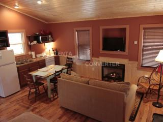 Papa John's Cabin: Waterfront Cabin in the Woods - Hamptonville vacation rentals