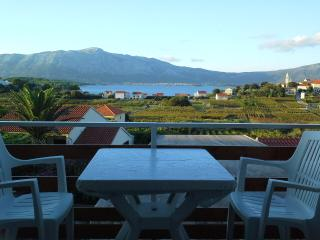 Baglija 3. Apt. Amazing view - Lumbarda vacation rentals