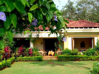 Stunning riverfront 2-bed villa, 5 min from beach - Patnem vacation rentals