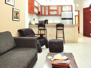 Old City 3BR: balcony, washer/dryer, 2 kitchens - Cartagena vacation rentals