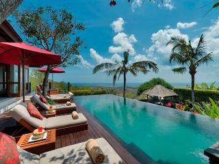 Uluwatu Bali Villa Capung luxury 3bdrm stunning views - Canggu vacation rentals