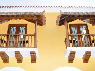 Old City 4BR: Balconies, AC, wifi, washer/dryer! - Cartagena District vacation rentals