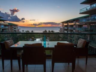 Maui Westside Properties: Hokulani 629 - Great Ocean View 3 bedroom Courtyard! - Kaanapali vacation rentals
