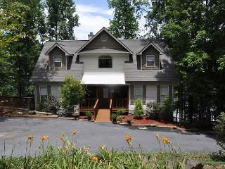 Waters Edge-AMAZING home w/ private dock 4 boating, swimming and fishing - Blairsville vacation rentals