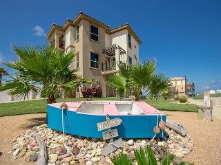 4BR/2.5BA Winter Texans Welcome! Luxury beach home, Ocean/Bay view, Game Room - Texas Gulf Coast Region vacation rentals