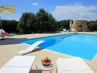 Private pool villa in olive groves with sea view! - Maruggio vacation rentals