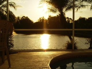 Sunset Lake View with private pool-Less then 8 minutes away from Disney ~ September special - Kissimmee vacation rentals