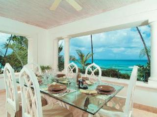 Flamboyant at Schooner Bay (201)- Caribbean sea view, amenities & steps to beach - Speightstown vacation rentals