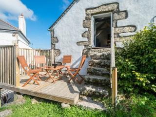 Sunny Barn with Deck and Outdoor Dining Area - Porkellis vacation rentals