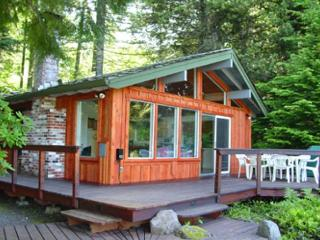 River View Cabin-Romantic cabin with awesome Sandy River Views. Hot tub. - Brightwood vacation rentals
