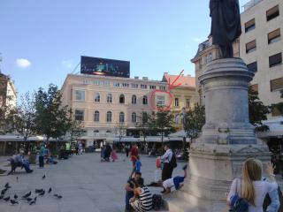 Exclusive view Cvjetni trg Zagreb - Zagreb vacation rentals