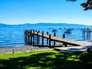 Tahoe Lakefront with Sandy Beach, Pier & Buoy - Homewood vacation rentals