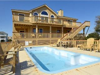 """About Time"" Pool, hot tub, walk to beach & shops - Corolla vacation rentals"