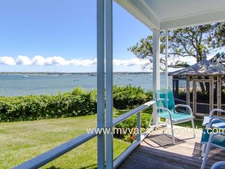 DAVIH - Outer Harbor Waterfront, Private Sandy Beach, Lush Gardens and Large Yard, Magnificent Waterviews - Vineyard Haven vacation rentals