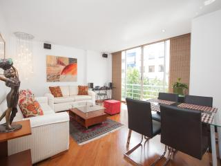 Eclectic 2 Bedroom Apartment in Zona T - Bogota vacation rentals