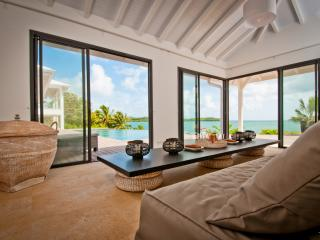 Luxury beach house, infinity pool, 4 to 5 AC BR - Le Francois vacation rentals