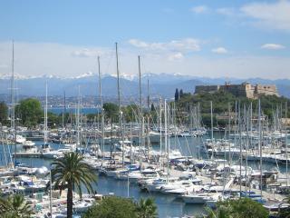 French Riviera view marina Antibes - Antibes vacation rentals