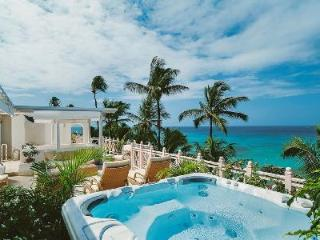 Newly refurbished beachfront penthouse Reeds House no14 with panoramic views & 55 ft roof terrace - Reeds Bay vacation rentals