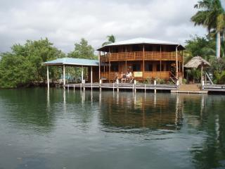 Cap's Inn 80 ft waterfront. Private home. - Placencia vacation rentals
