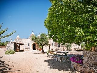 Trulli il Castagno: trulli holiday wine farm in puglia with one bedroom - Martina Franca vacation rentals