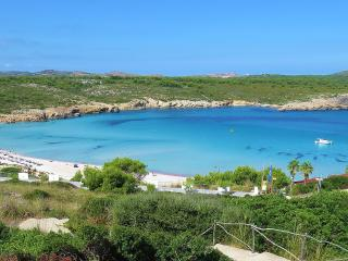 Sandy beach just a 5-minute stroll away. FREE Wi-FI. Air-con in both bedrooms. - Son Parc vacation rentals