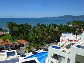 Private dipping pool, ocean view at Nitta. 3000sf! - Puerto Vallarta vacation rentals