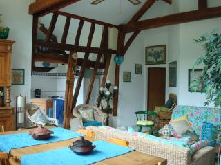 Nice Farmhouse Barn with Internet Access and Outdoor Dining Area - Saint-Justin vacation rentals