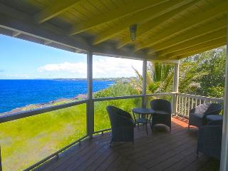 Kahikole - Direct Oceanfront, Centrally Located, All the Comforts of Home - Keaau vacation rentals