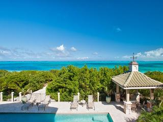Located on the western end of Grace Bay Beach, this villa is nestled amid cloistered decks. TNC TAM - Grace Bay vacation rentals
