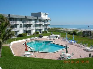 Beachfront condo with private keyed access to heated pool & beach.  Absolutely beautiful views! - Cocoa Beach vacation rentals