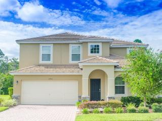 CALABRIA -5 Bed/4.5 bath- (MF2900) Luxurious Lifestyle! 2 Story Amazing  Pool Home, spa, game room, Lake View - Disney vacation rentals