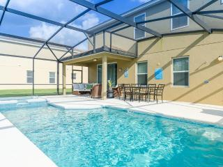 CALABRIA -5 Bed/4.5 ba- MF Luxurious Lifestyle! 2 Story Amazing  Pool Home, spa, game room, Lake - Kissimmee vacation rentals