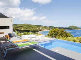 Architectural Villa with fabulous views of the sea - Corsica vacation rentals