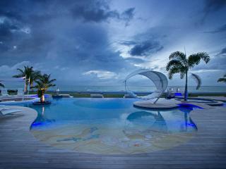 C'EST LA VIE...  WOW!! Spectacular new 6 BR beachfront beauty on Plum Bay,Terres Basses - Terres Basses vacation rentals