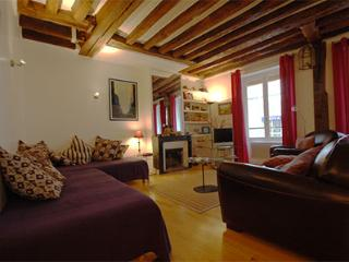 Marais 1 Bedroom (2834) - Paris vacation rentals