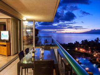 Maui Westside Properties: Hokulani 609 - Great Ocean Views with Wraparound Lanai! - Kaanapali vacation rentals