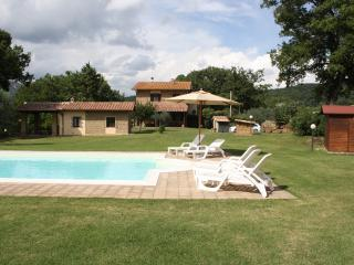Recently restored farmhouse in Southern Tuscany, private garden and outdoor pool - Sorano vacation rentals