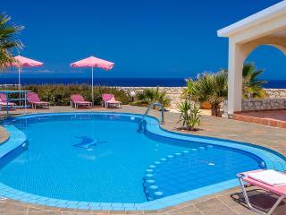 Villa Clio with breathtaking sea & sunset view - Akrotiri vacation rentals
