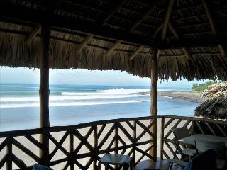 Front Row-  Ocean Front Surf House - Puerto de la Libertad vacation rentals