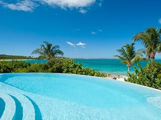 On the westward starting point of Grace Bay, this beachfront villa, with excellent swimming a 5 minute walk from the property, o - Turks and Caicos vacation rentals