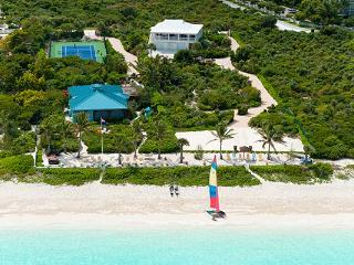 Located along Grace Bay Beach in Turtle Cove, this lovely tropical villa offers all modern amenities. TNC CON - Grace Bay vacation rentals
