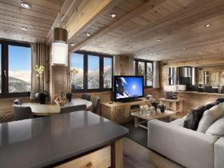 Contemporary Penthouse Pearl with panoramic views & ski-in/out access - Rhone-Alpes vacation rentals
