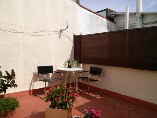 El Raval Lovely Attic with terrace - Barcelona vacation rentals
