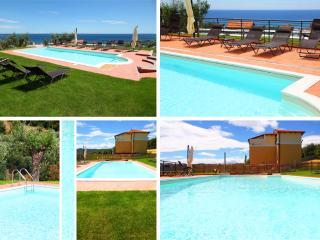 Villa il Poggiolo - ViP Panorama apartment - Pool - Diano Marina vacation rentals