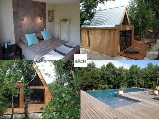 La Trigone du Causse :Maison bois avec piscine - Saint-Cirq-Lapopie vacation rentals