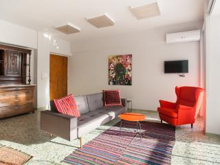 Trendy penthouse with private balcony and views of the Acropolis. Sleeps 4. - Athens vacation rentals